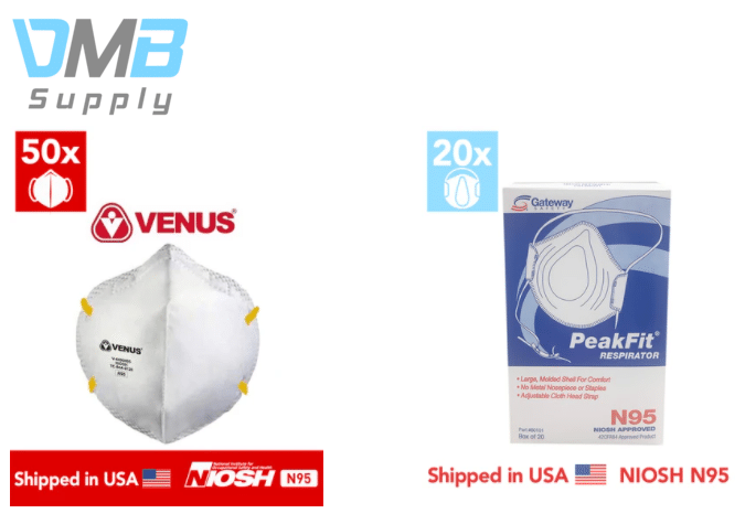 Respirators from DMB Supplies