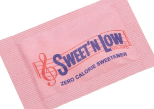 Sweet'N Low saccharin packet